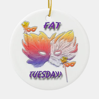 Fat Tuesday Mask Ornament