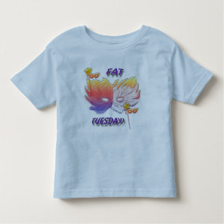 Fat Tuesday Mask Toddler T-shirt