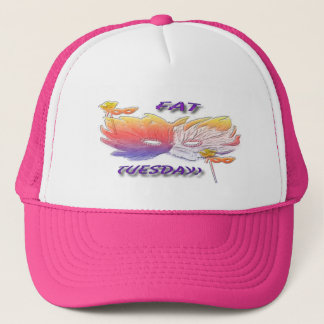 Fat Tuesday Mask Trucker Hat