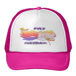 Fat Tuesday Mask Trucker Hat