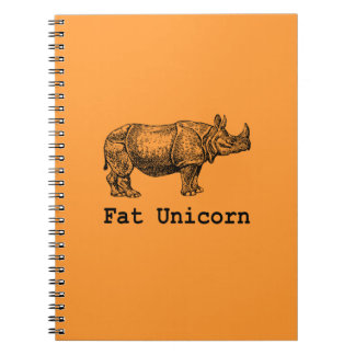 Fat Unicorn Notebook
