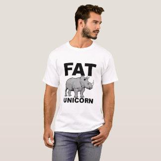 Fat Unicorn Rhino Funny Tshirt