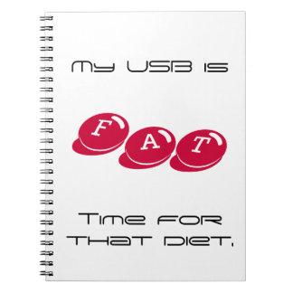 FAT USB Notebook