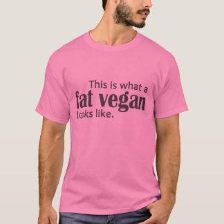 Fat Vegans (Gray) T-Shirt