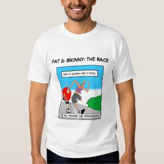 FAT Y FLACO: La camiseta de la RAZA Camisas
