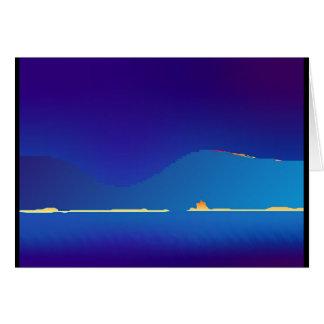 Fata morgana #1 (at dawn in the Pixel Highlands) Card
