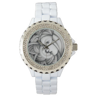 Fata Morgana Black and White Watch