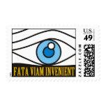 Fata Viem Invenient Stamps