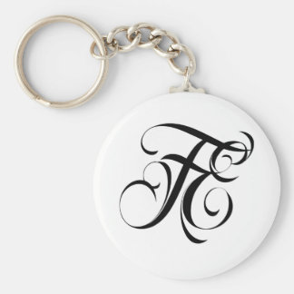 Fatal Endeavors Clothing & Accessories Brand LOGO Keychain