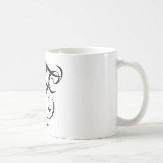 Fatal Endeavors FE BLACK BRANDED LOGO Coffee Mug