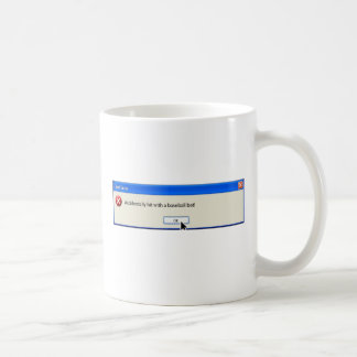 FAtal  Error Funny  Computer Message Coffee Mugs