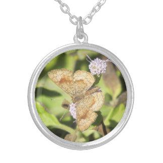 Fatal Metalmark Butterfly Necklace