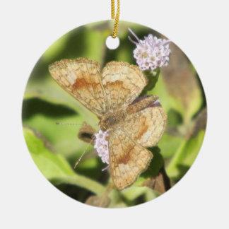 Fatal Metalmark Butterfly Ornament