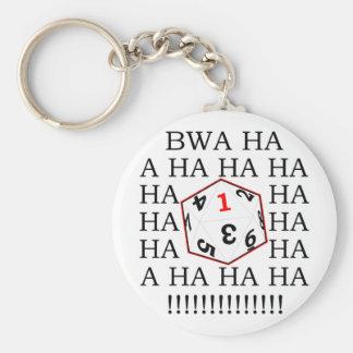 Fatal Roll Keychain
