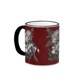 Fatal Rose Angel Mug mug