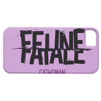 Fatale felino iPhone 5 Case-Mate carcasas