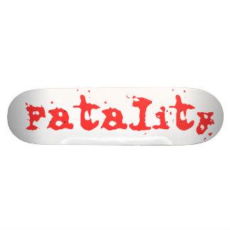 Fatalidad Patín Personalizado