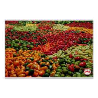 Fatalii's Chile Pepper Poster