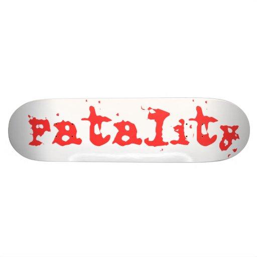 Fatality Skate Decks