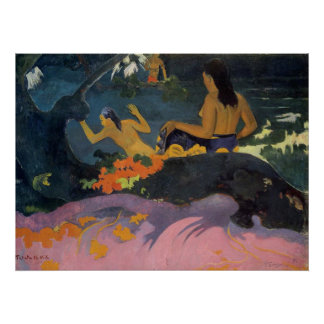 Fatata Te Miti (By The Sea) - Paul Gauguin Print