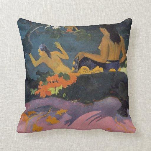 Fatata Te Miti - Paul Gauguin Pillow