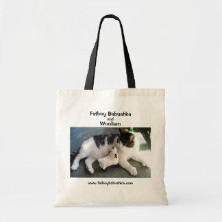 Fatboy Babushka and Wooliam Budget Tote Bag