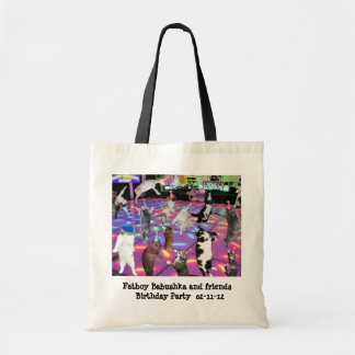 Fatboy Babushka Birthday Party Tote Bag