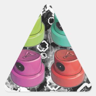 Fatcapschwarz Triangle Sticker