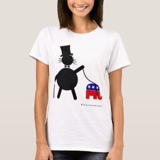 Fatcat and Republican Elephant T-Shirt