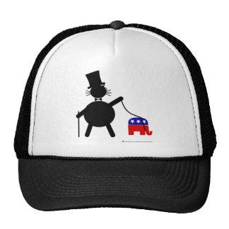 Fatcat y elefante republicano gorros