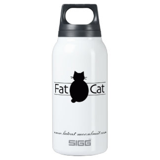Fatcat's Insulated Water Bottle