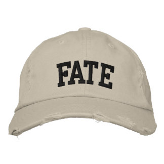 Fate Embroidered Hat Embroidered Baseball Cap