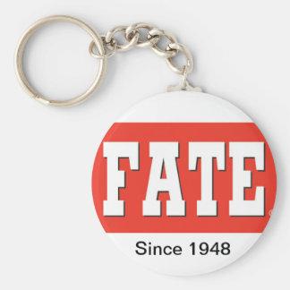 Fate Magazine Logo Keychain