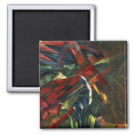 Fate of the Animals, 1913 2 Inch Square Magnet