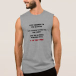 FATE WHISPERS TO THE WARRIOR, SLEEVELESS SHIRT
