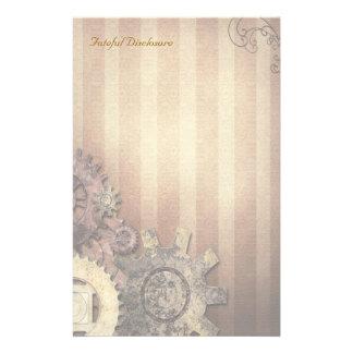 Fateful Disclosure - Steampunk Stationery