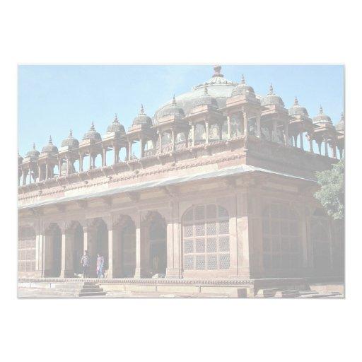 Fatehpur Sikri, Agra, Rajasthan, India 5x7 Paper Invitation Card