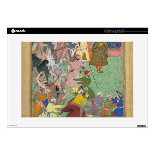 "Fatepur Sikiri, 1573: Hasain Quli Khan-l Jahan pre 15"" Laptop Decal"