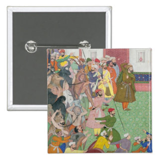 Fatepur Sikiri, 1573: Hasain Quli Khan-l Jahan pre Pinback Button