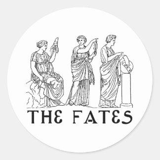 Fates Classic Round Sticker
