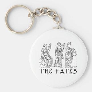 Fates Basic Round Button Keychain