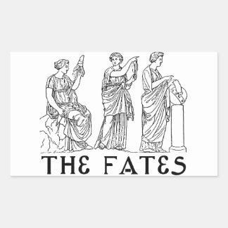 Fates Rectangular Sticker