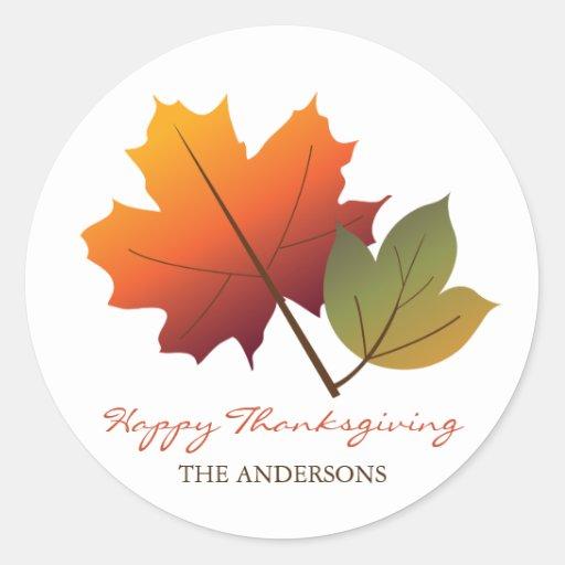 fatfatin Autumn Leaves Pop Tree Sticker