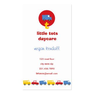 fatfatin Boys' Toys Fun Daycare Profile Card Business Card Template