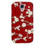 fatfatin Cream Sakuras Cherry Blossoms  Samsung Galaxy S4 Cover