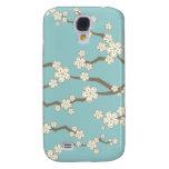 fatfatin Cream Sakuras Cherry Blossoms  Galaxy S4 Cases