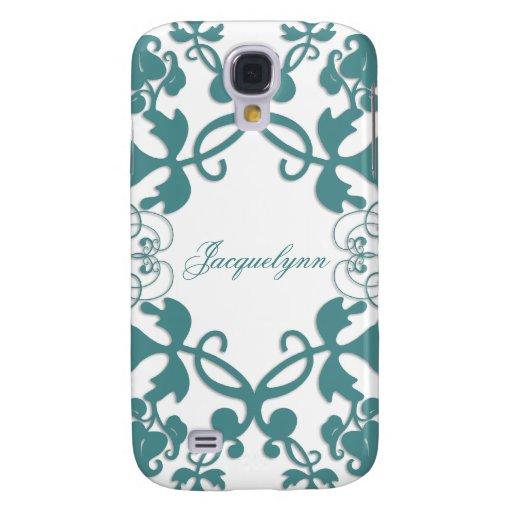 fatfatin Floral Flourish Peacock ®  Galaxy S4 Cases