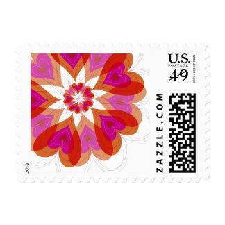 fatfatin Flower Valentine Love Hearts Stamps