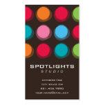 fatfatin Fuzzy Color Dots Profile Card Business Card