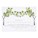 fatfatin Knotted Love Trees Wedding Invitation Announcements
